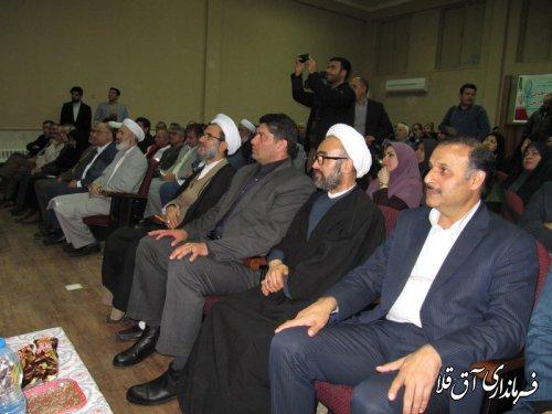 نماینده عالی دولت در استان از فرماندار شهرستان آق قلا تجلیل کرد
