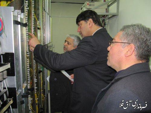 13 هزار مشترک در شهرستان آق قلا از خدمات شبکه زیرساخت مخابرات بهره مند هستند