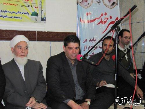 حضور مسئولین در میان مردم،از برکات انقلاب اسلامی است