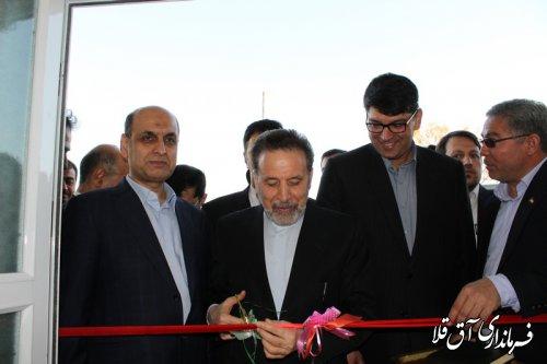 600 امین واحد مسکونی مناطق سیل زده شهرستان آق قلا افتتاح شد