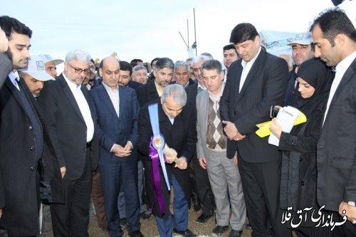 عملیات اجرایی فاز دوم پروژه زهکشی 50 هزار هکتار اراضی کشاورزی شمال آق قلا آغاز شد