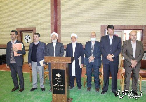 مانور برگزاری یازدهمین دوره انتخابات مجلس شورای اسلامی در شهرستان آق قلا برگزار شد