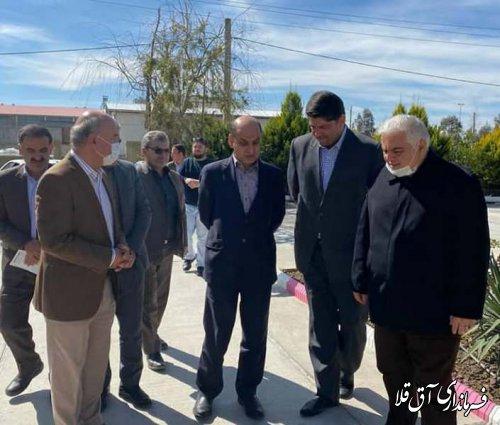استاندار گلستان از چند واحد تولیدی در شهرک صنعتی آق قلا بازدید بعمل آورد