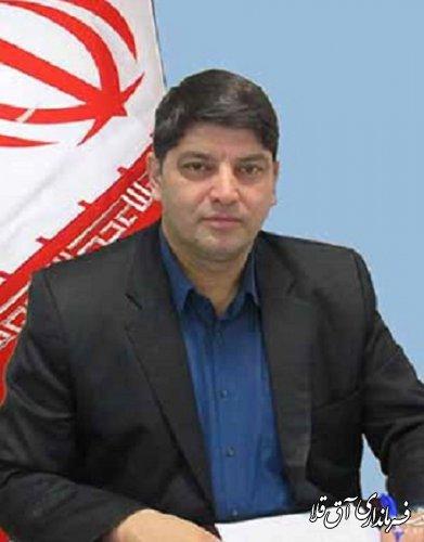 پیام تبریک فرماندار شهرستان آق قلا به مناسبت فرا رسیدن عید نوروز و بهار طبیعت