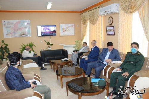 جلسه شورای هماهنگی حفظ آثار و نشر ارزشهای دفاع مقدس استان برگزار شد