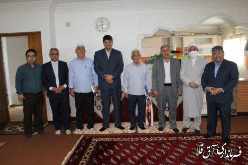 فرماندار شهرستان آق قلا از بازنشستگان آموزش و پرورش تجلیل کرد