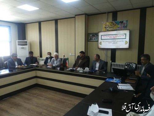 کسب رتبه نخست استانی شورای آموزش و پرورش شهرستان آق قلا برای چهارمین سال متوالی