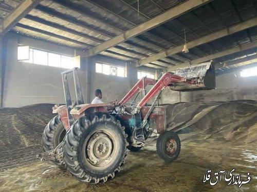 برداشت 220 هزار تن محصولات استراتژیک از اراضی کشاورزی شهرستان آق قلا