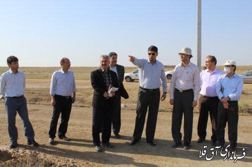 کارشناسان مرکز تحقیقات از عملیات پاکسازی پسآب کارخانه ید،بازدید کردند