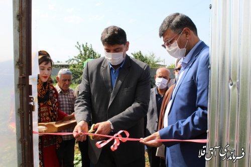 گلخانه کوچک مقیاس با اعتبار 110 میلیون تومان در روستای یلمه خندان شهرستان آق قلا افتتاح شد
