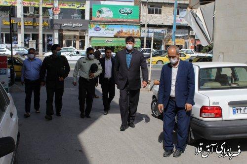 فرماندار شهرستان آق قلا از مراکز ترک اعتیاد و درمان بازدید کرد