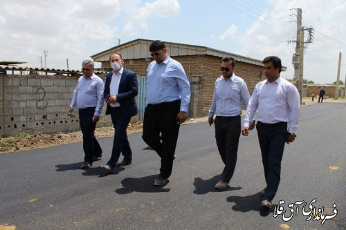 آسفالت 10 هزار متر مربع از معابر روستاهای بخش وشمگیر با اعتبار 17 میلیارد ریال