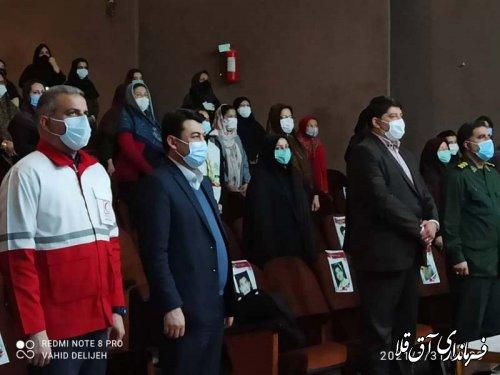جشن بزرگ یاوران انقلاب در شهرستان آق قلا برگزار شد
