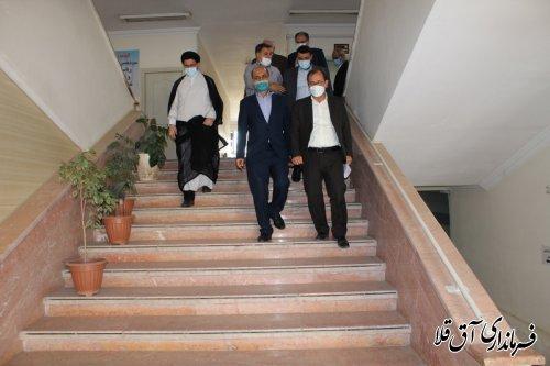 استاندار گلستان از ستاد انتخابات شهرستان آق قلا بازدید بعمل آورد