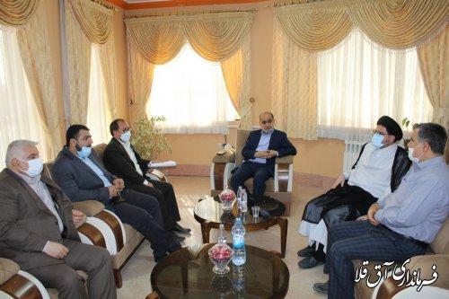 استاندار گلستان از ستاد انتخابات شهرستان آق قلا بازدید کرد