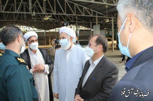 رئیس هیات اجرایی از شعب اخذ آراء ریاست جمهوری و شوراهای اسلامی بازدید کرد