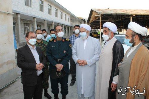 رئیس هیات اجرایی آق قلا از شعب اخذ آراء ریاست جمهوری و شوراهای اسلامی بازدید کرد